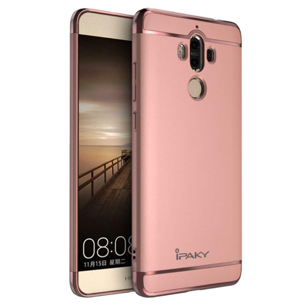 Image of   Huawei Mate 9 - Hardcover IPAKY 3-i-1 - Rose guld