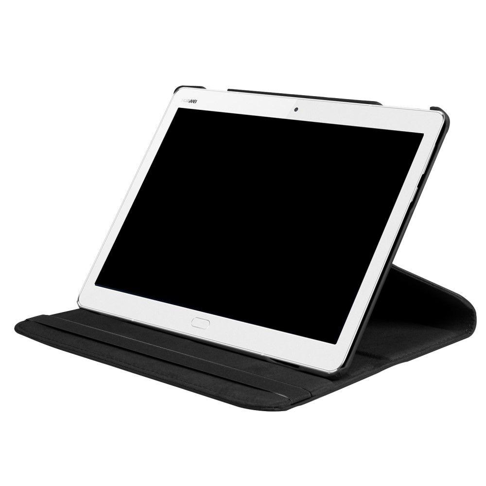 Image of   Huawei MediaPad M3 Lite 10 - PU læder smart/wake up cover - Sort