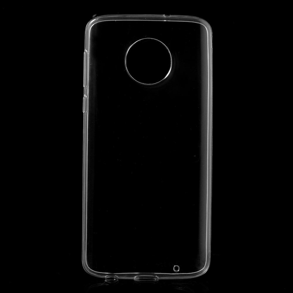 Motorola Moto G6 Plus - Crystal Clear gummi cover / etui