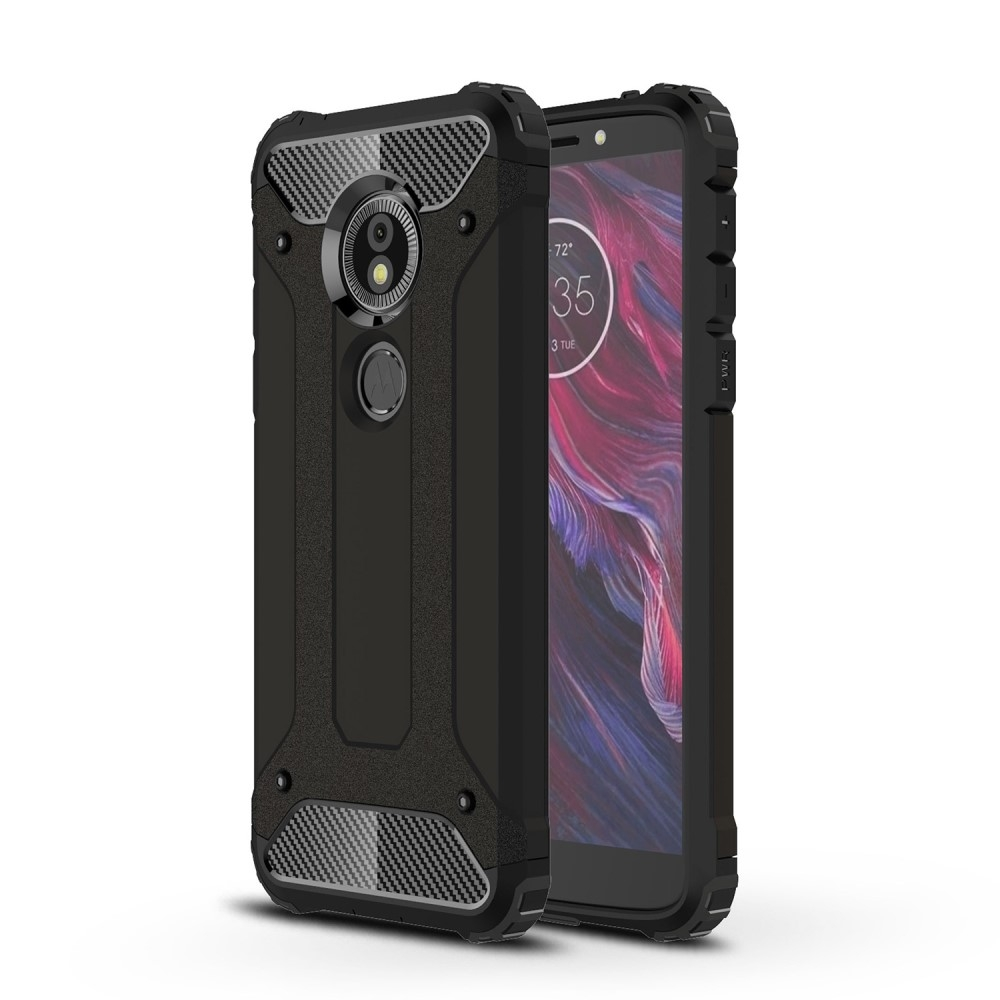 Image of   Motorola Moto E5 / Moto G6 Play - Armor Guard Hybrid cover - Sort