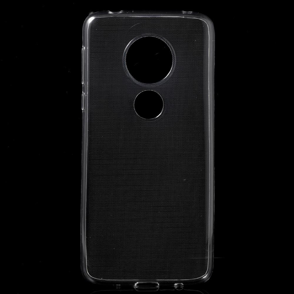 Motorola E5 - Shockproof gummi cover - Transparent