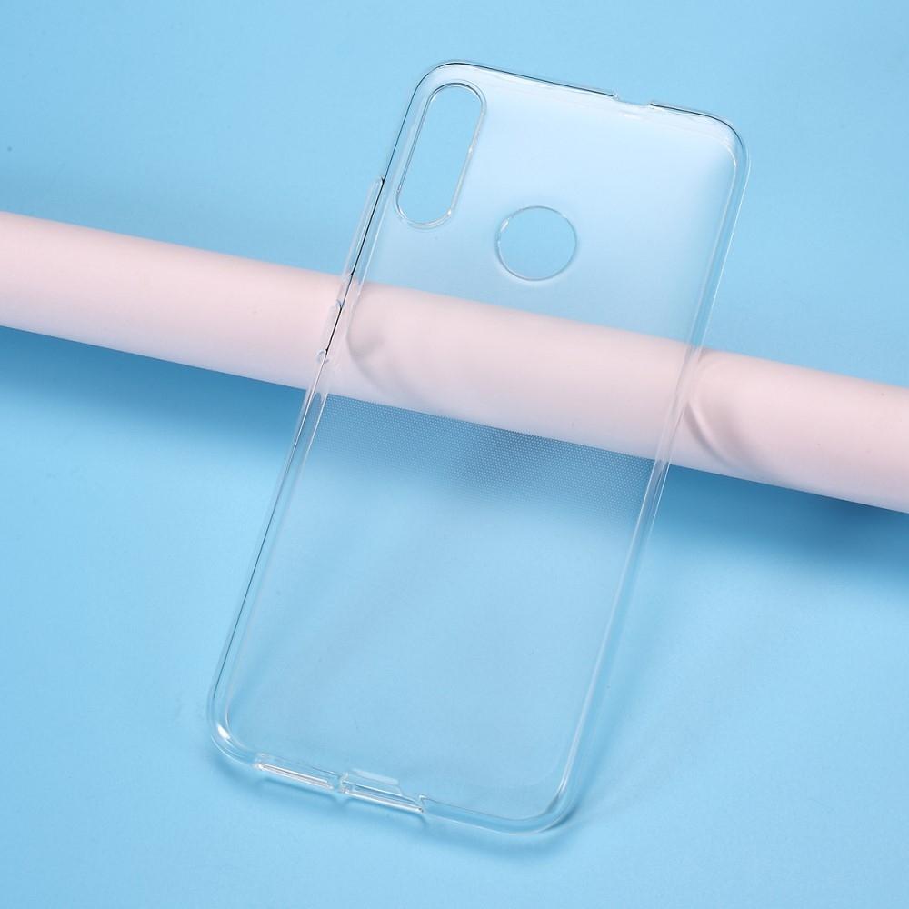 Motorola E6 Plus - Blød gummi cover/etui - Transparent