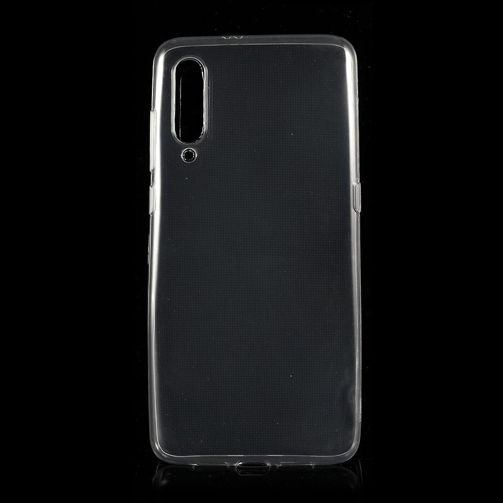 Xiaomi Mi 9 - Ultra tyndt gummi cover - Transparent