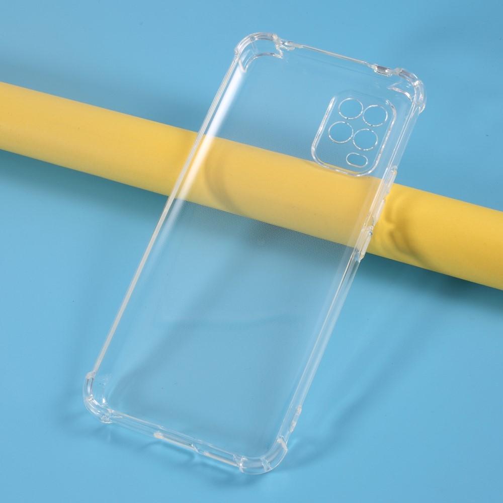 Xiaomi Mi 10 Lite 5G - Shockproof gummi cover - Transparent