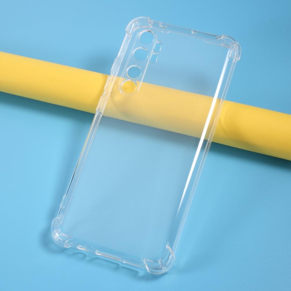 Xiaomi Mi Note 10 Lite - Shockproof gummi cover - Transparent