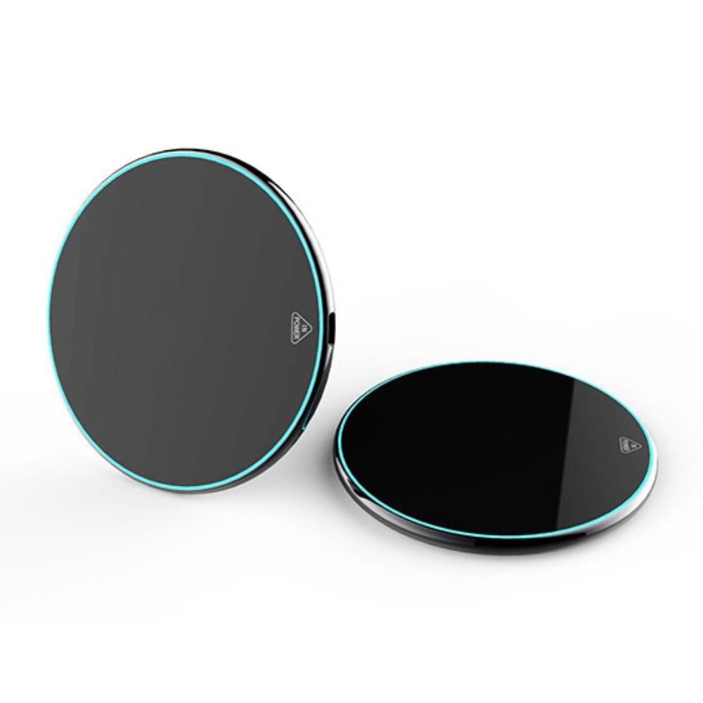 Mirror QI trådløs oplader - Sort