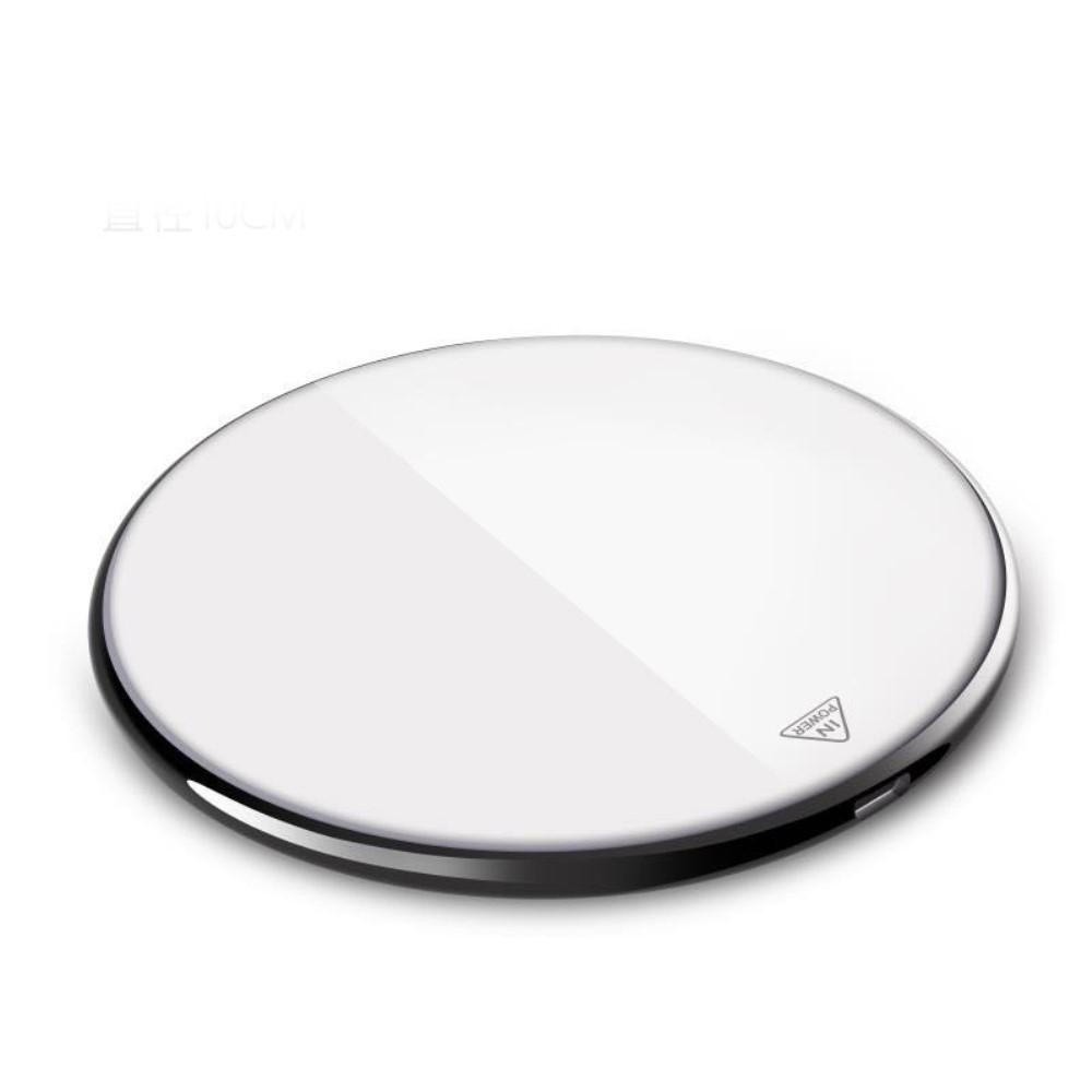 Mirror QI trådløs oplader - Hvid