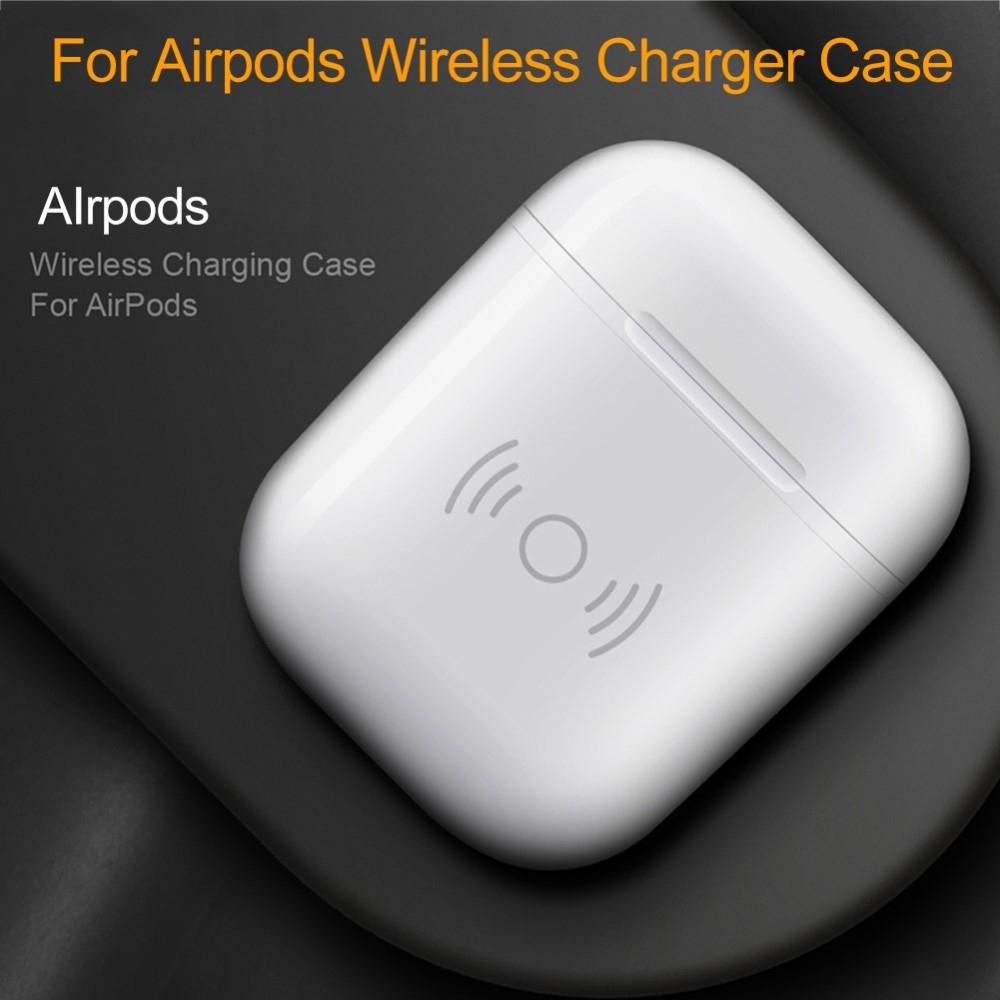 Image of Apple AirPods - Trådløs opladerbox - Hvid