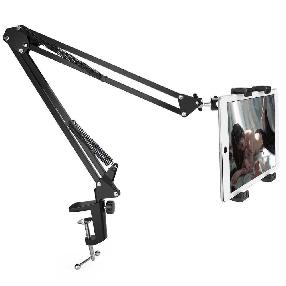 Image of   ALL ANGLE - Justerbar Arkitekt holder 360 grader til smartphone/tablet op til 7""