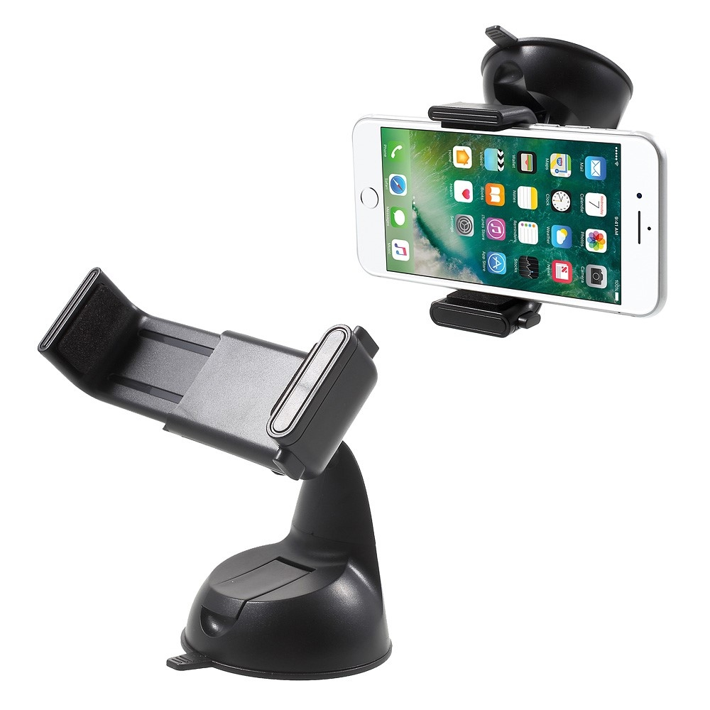 Image of   Universal holder m/sugekob til bilen til iPhone/smartphone - Sort