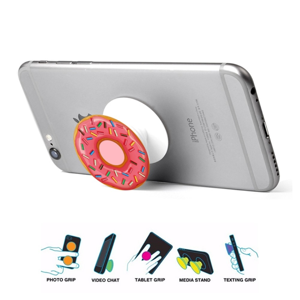 Image of   Doughnut Finger Grip - Pink