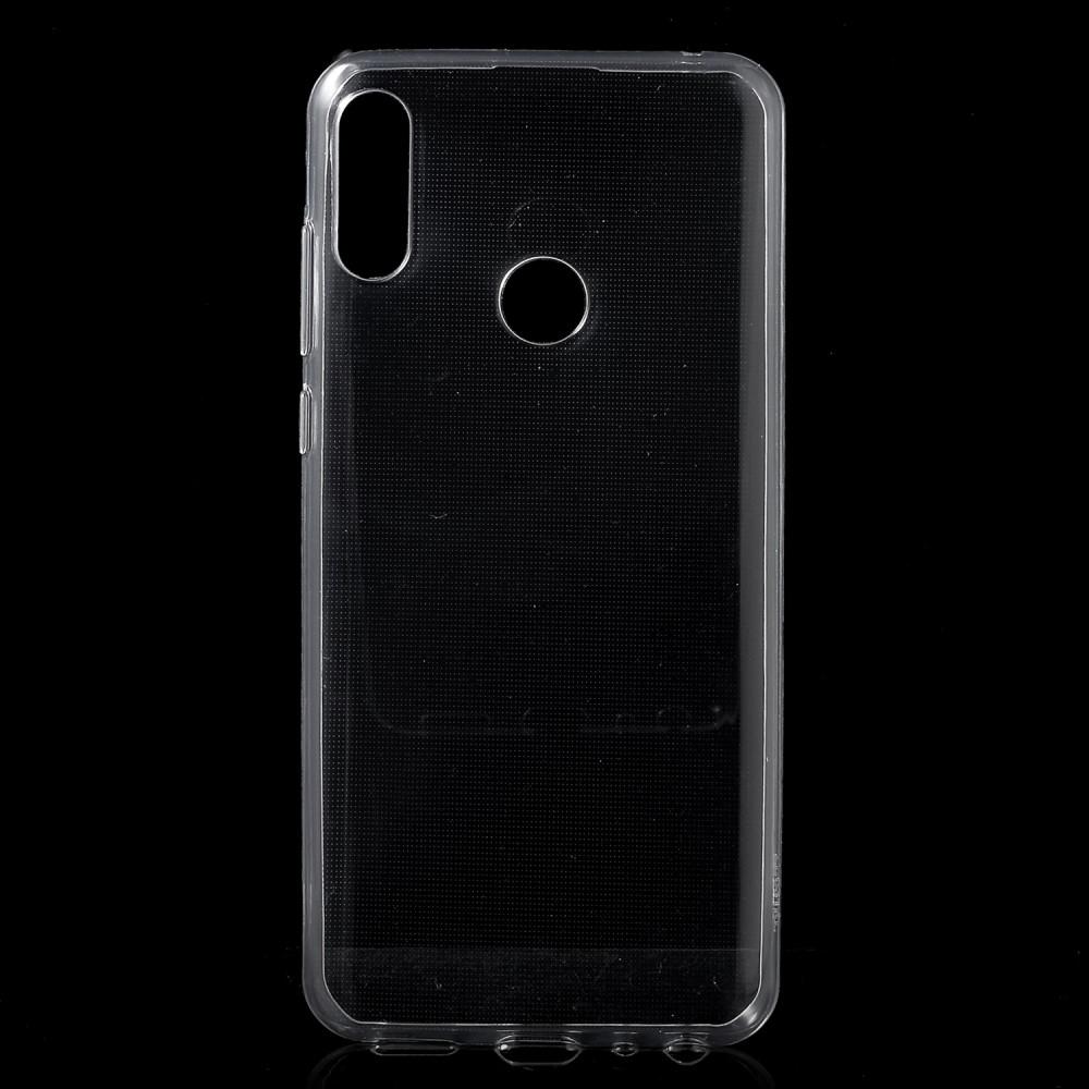 Image of   Asus Zenfone Max Pro (M2) - Crystal klar gummi cover/etui