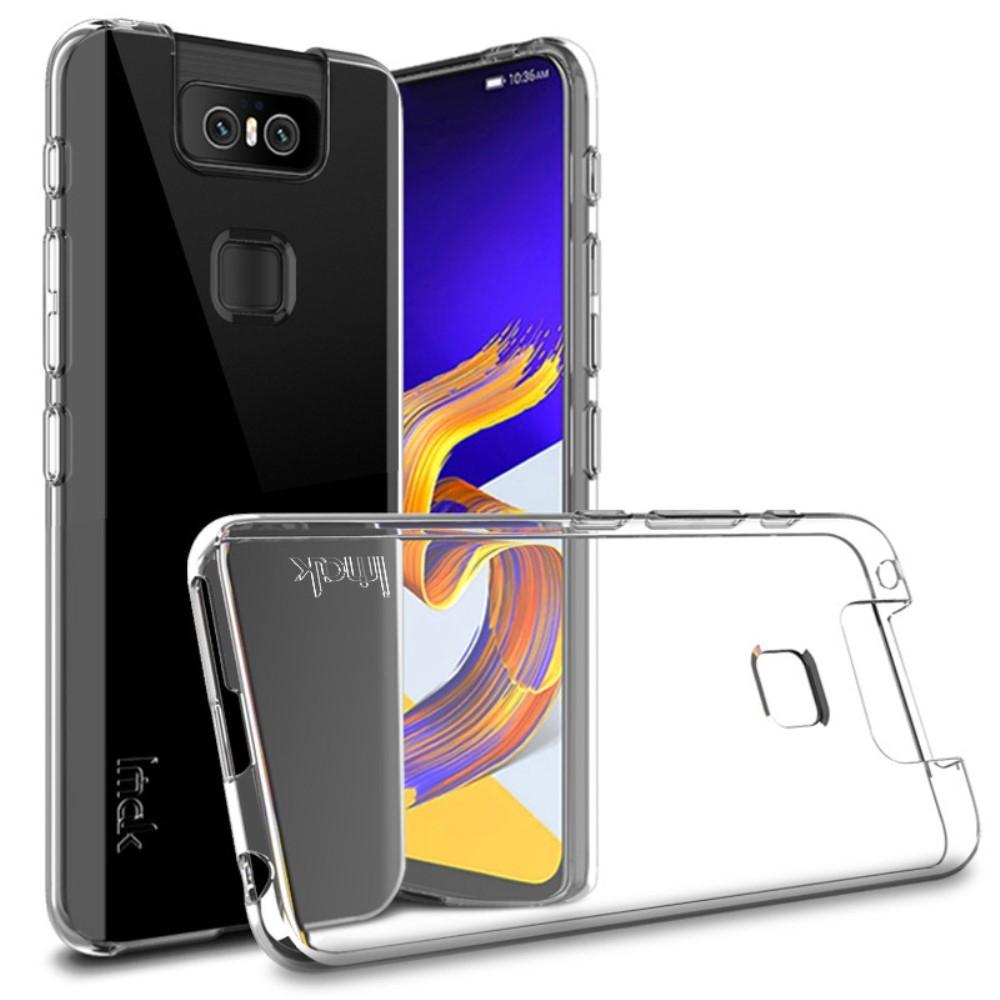 Image of   Asus Zenfone 6 ZS630KL - IMAK Series 5 gummi cover - Transparent