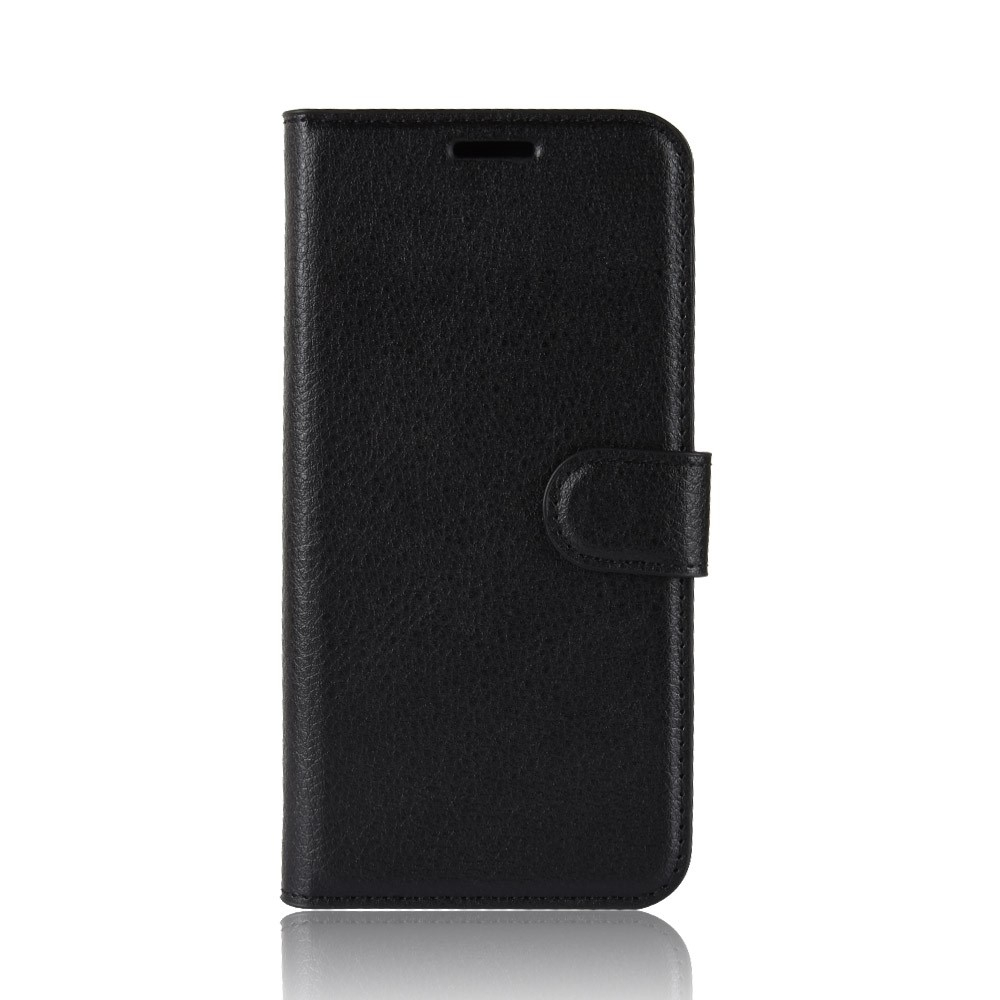 Image of   Asus Zenfone 6 ZS630KL - Læder cover / pung - Sort