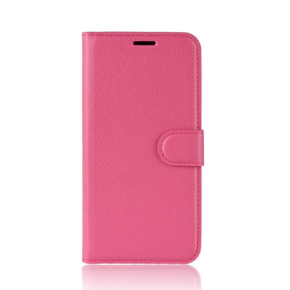 Image of   Asus Zenfone 6 ZS630KL - Læder cover / pung - Pink