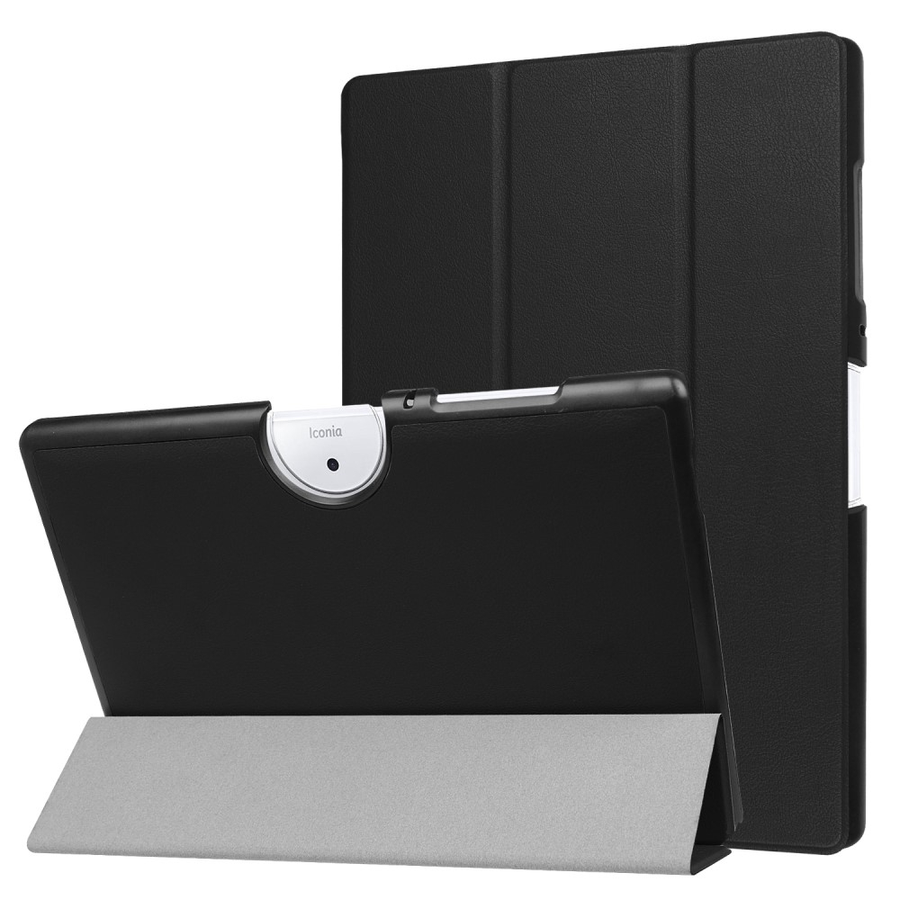 Image of Acer Iconia One 10 B3-A40 - Tri-Fold læder cover - Sort