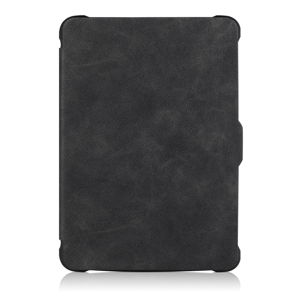 Image of   Amazon Kindle Paperwhite - Shockproof læder cover/etui - Sort