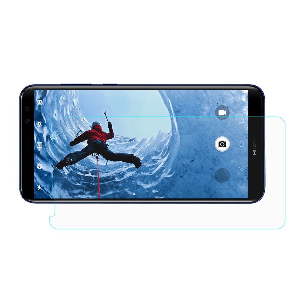 Huawei Mate 10 Lite - Hærdet panserglas 2D HD klart