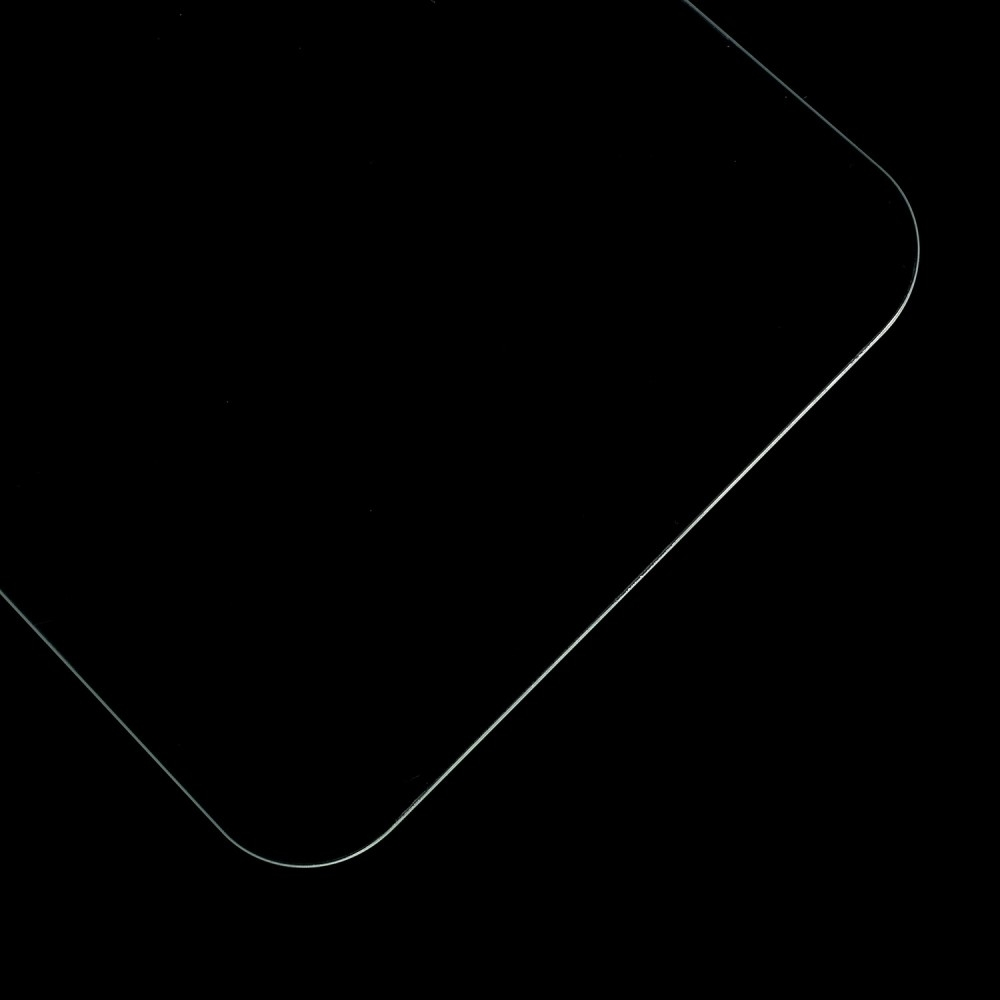 Samsung Galaxy A8 Plus (2018) - Hærdet panserglas 0,3 mm. m/arc edge