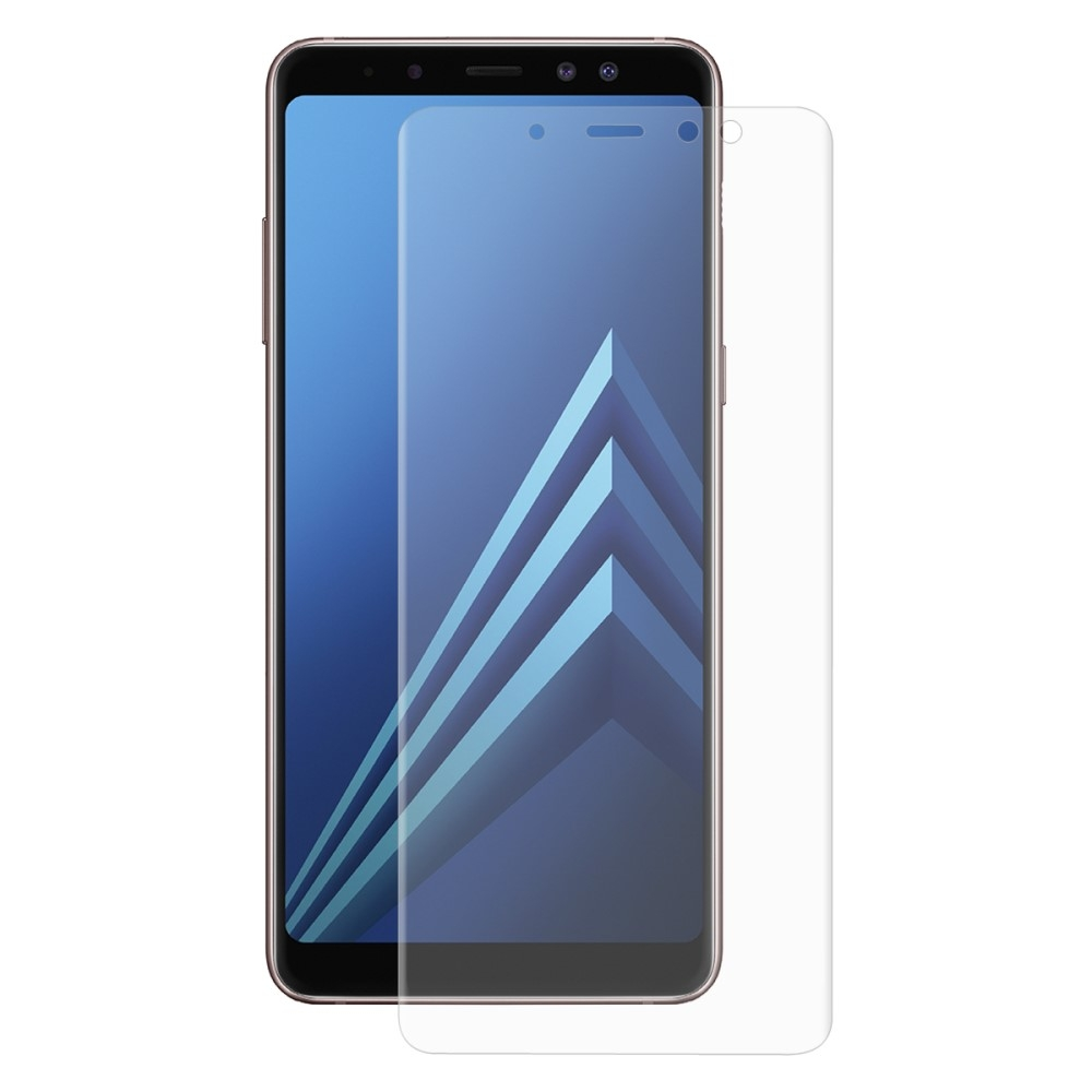 Samsung Galaxy A8 (2018) - HAT PRINCE curved panserglas 0.26mm med komplet dækning