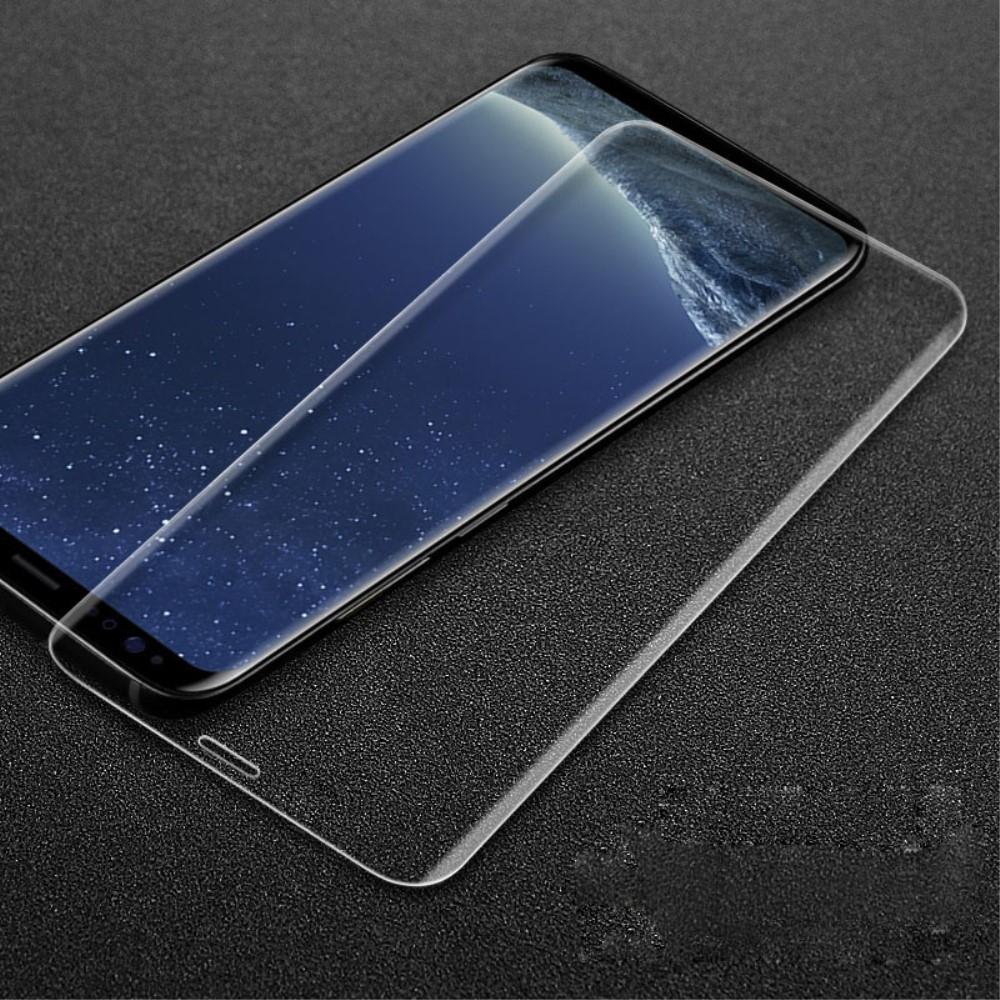 Samsung Galaxy S9 Plus - IMAK 3D Curved hærdet panserglas m/komplet dækning - Transparent