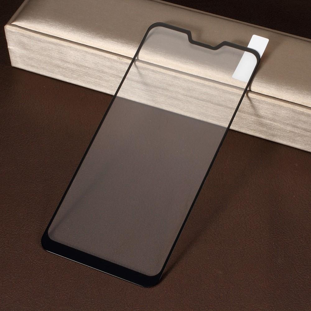 Image of   Asus Zenfone Max Pro (M2) - Hærdet beskyttelsesglas m/komplet dækning