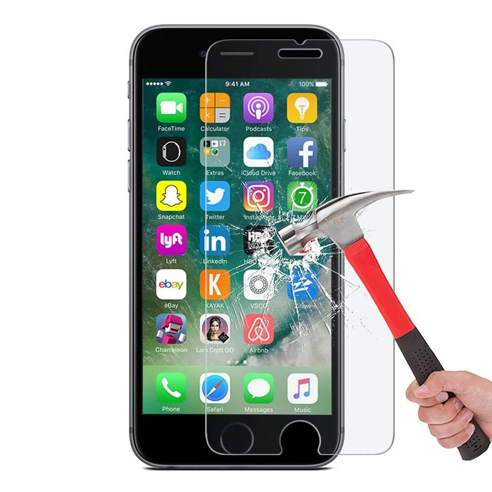 iPhone 8/7 - ENKAY hærdet panserglas 9H Arc Edge