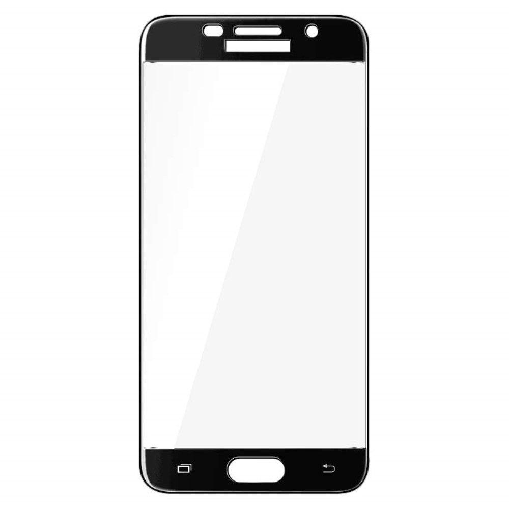 Image of   Galaxy A5 (2017) - IMAK hærdet panserglas Arc Edge komplet dækning - Sort