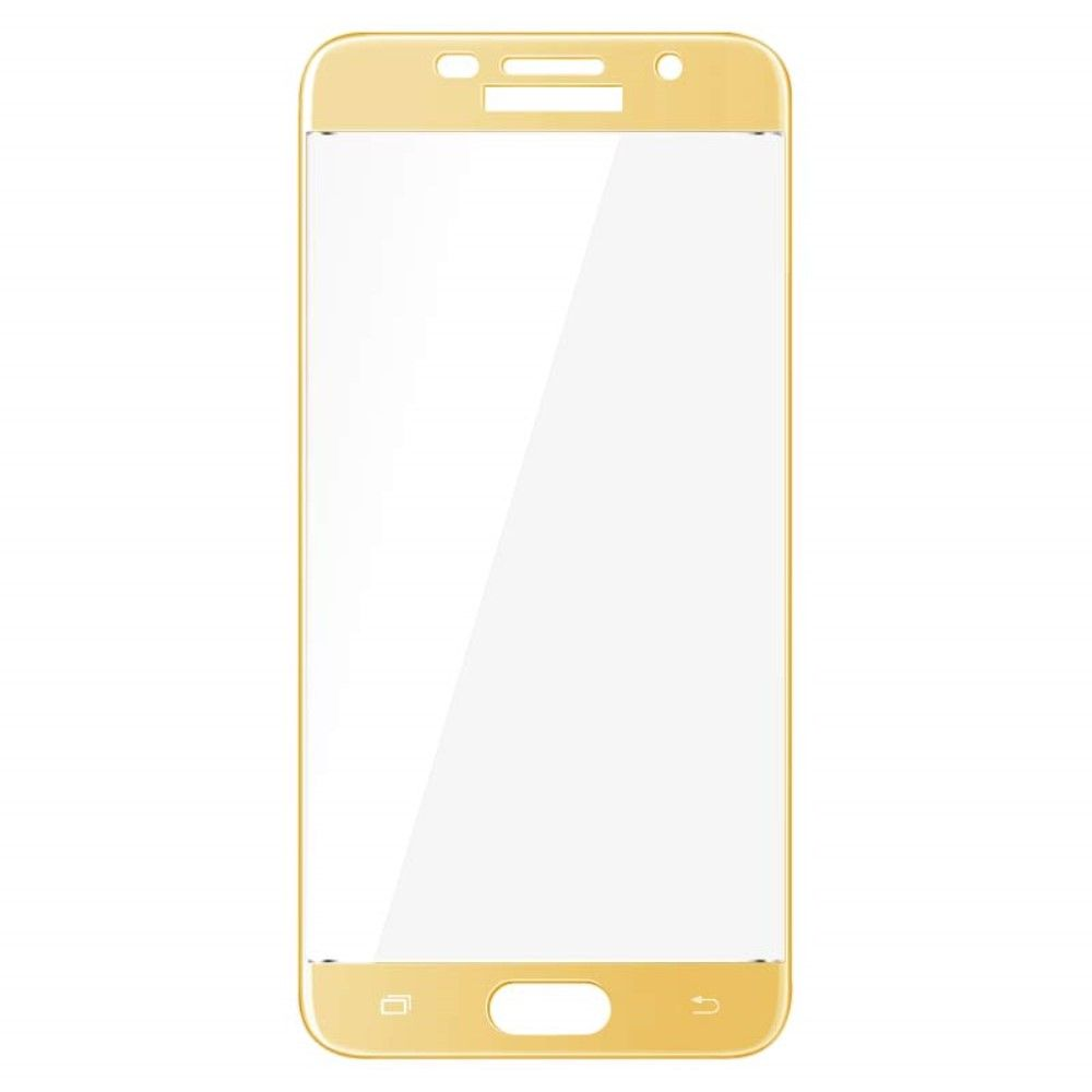 Image of   Galaxy A5 (2017) - IMAK hærdet panserglas Arc Edge komplet dækning - Guld