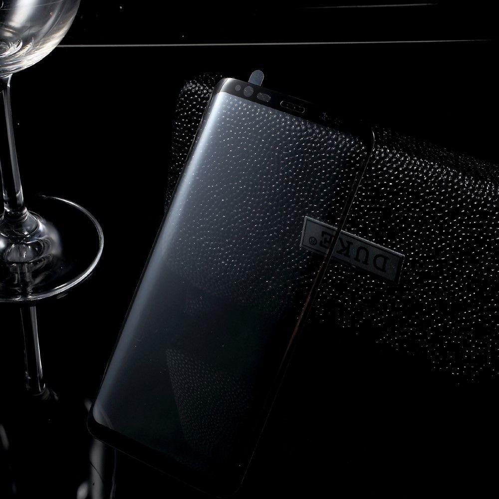 Image of   Galaxy S8 - Hærdet Panserglas med fuld beskyttelse - Sort
