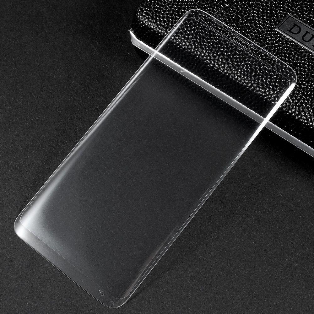 Image of   Galaxy S8 - Hærdet Panserglas med fuld beskyttelse - Transparent