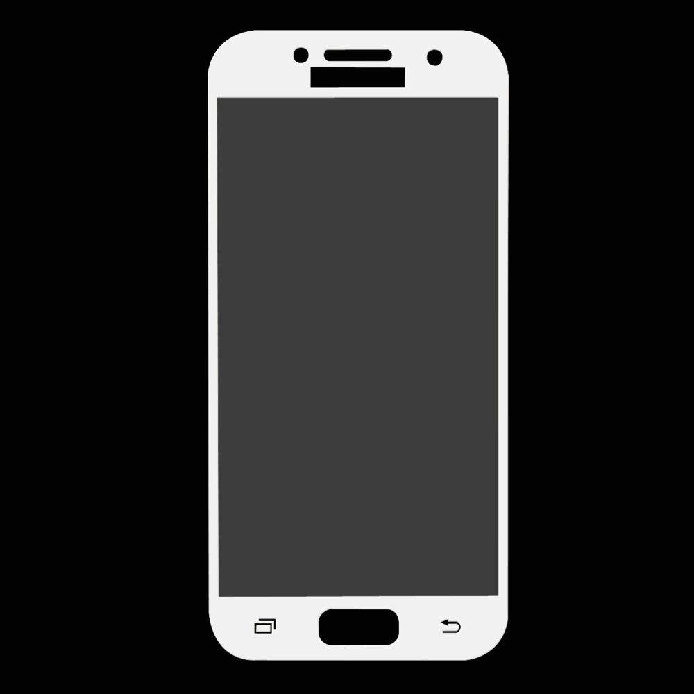 Image of   Galaxy A3 (2017) - HAT PRINCE panserglas 0,26mm. fuld dækning - Hvid