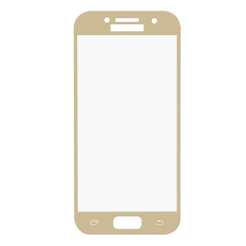 Image of   Galaxy A3 (2017) - HAT PRINCE panserglas 0,26mm. fuld dækning - Guld