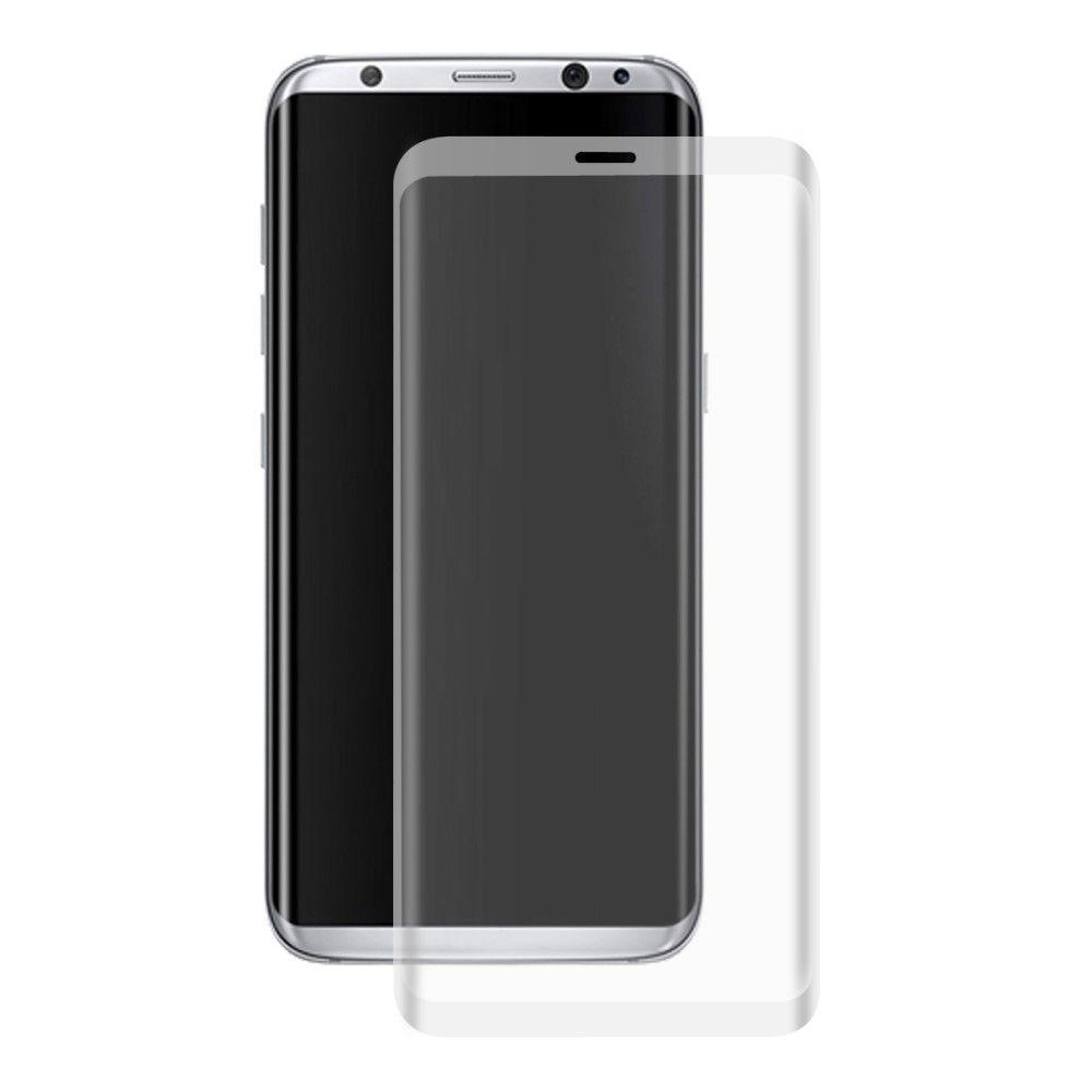 Image of   Galaxy S8 - HAT PRINCE panserglas 0,26 mm. komplet dækning - Grå