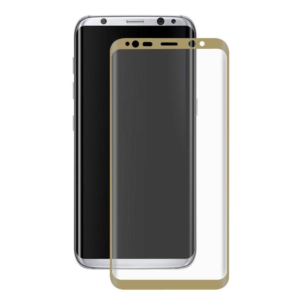 Image of   Galaxy S8 - HAT PRINCE panserglas 0,26 mm. komplet dækning - Guld