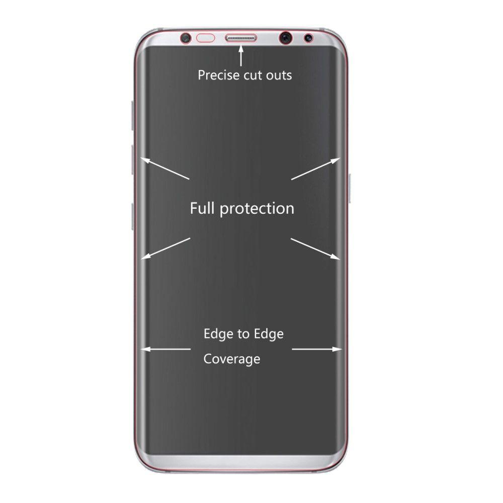 Image of   Galaxy S8 - Beskyttelsesfilm HAT PRINCE ultraklar
