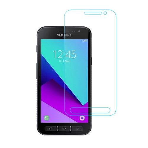 Image of   Galaxy Xcover 4 - Hærdet panserglas 0,3mm. med Arc Edge