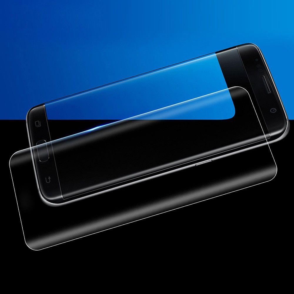 Image of   Galaxy S8 - Hærdet Panserglas med fuld beskyttelse AMORUS - Transparent