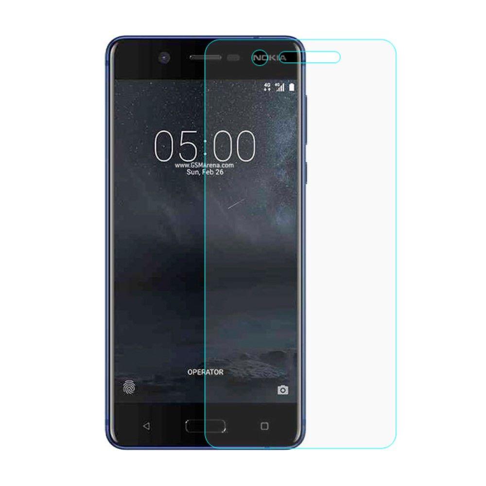 Nokia 5 - Hærdet panserglas 0,3 mm. med Arc Edge