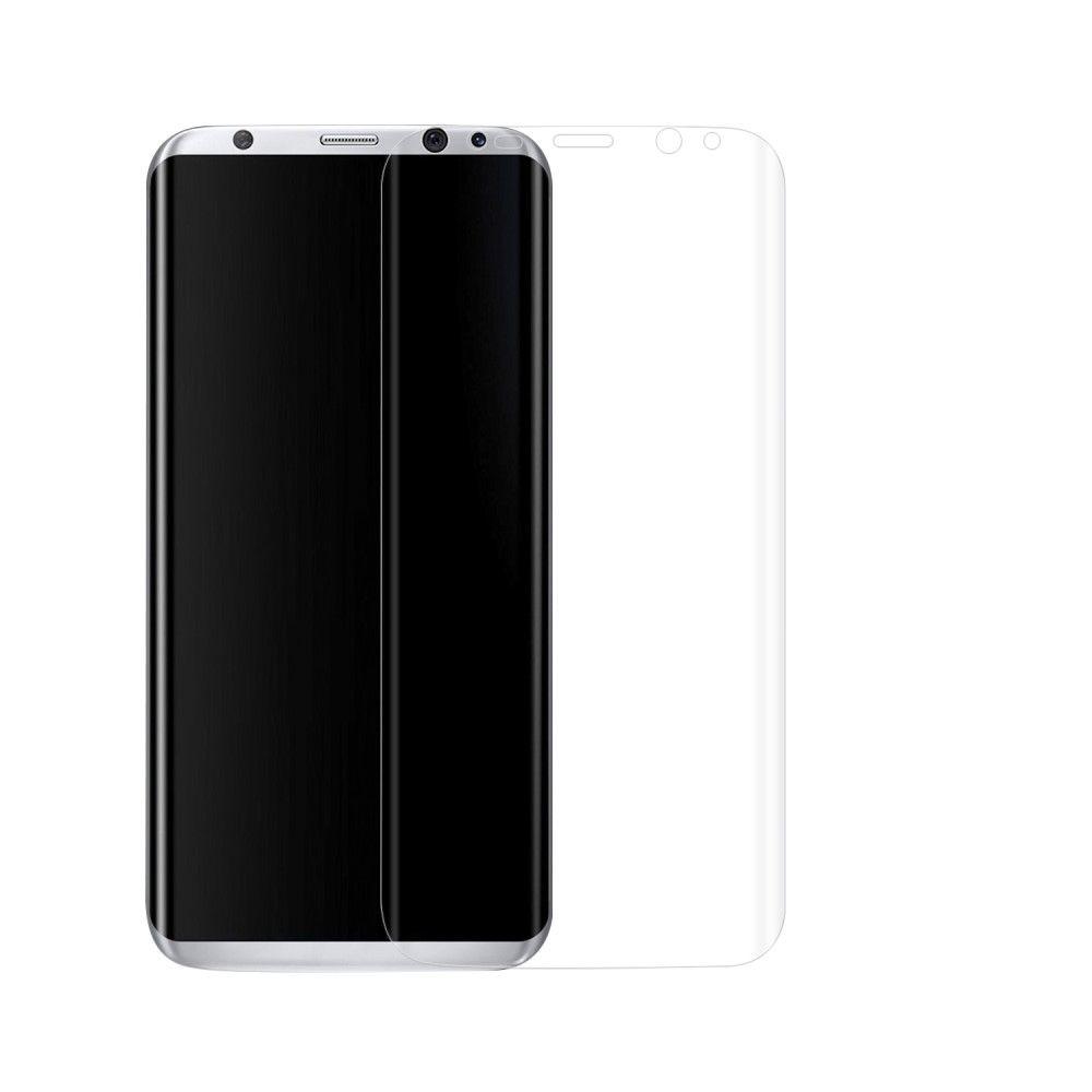 Image of   Galaxy S8 - 0,1 mm buet PET Film med fuld beskyttelse