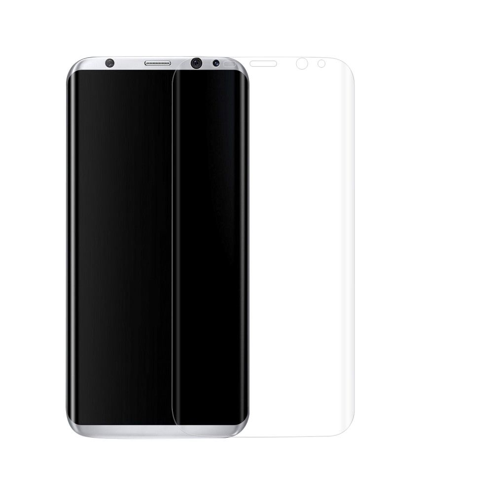 Image of   Galaxy S8 Plus - Beskyttelsesfilm 0,1 mm. komplet dækning