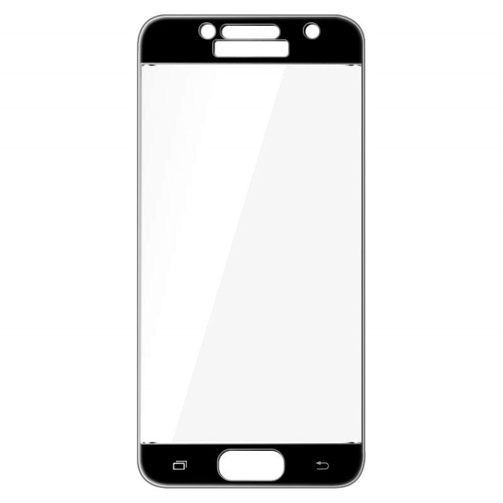 Image of   Galaxy A3 (2017) - IMAK hærdet panserglas komplet dækning - Sort