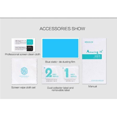 Huawei P10 Lite - NILLKIN Amazing H+PRO hærdet panserglas - Transparent