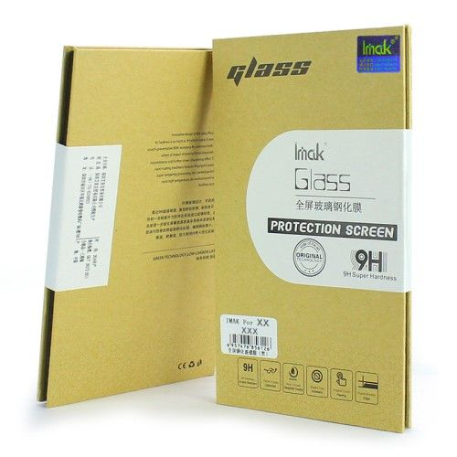 Xperia XA1 Ultra - IMAK hærdet panserglas med fuld dækning - Guld