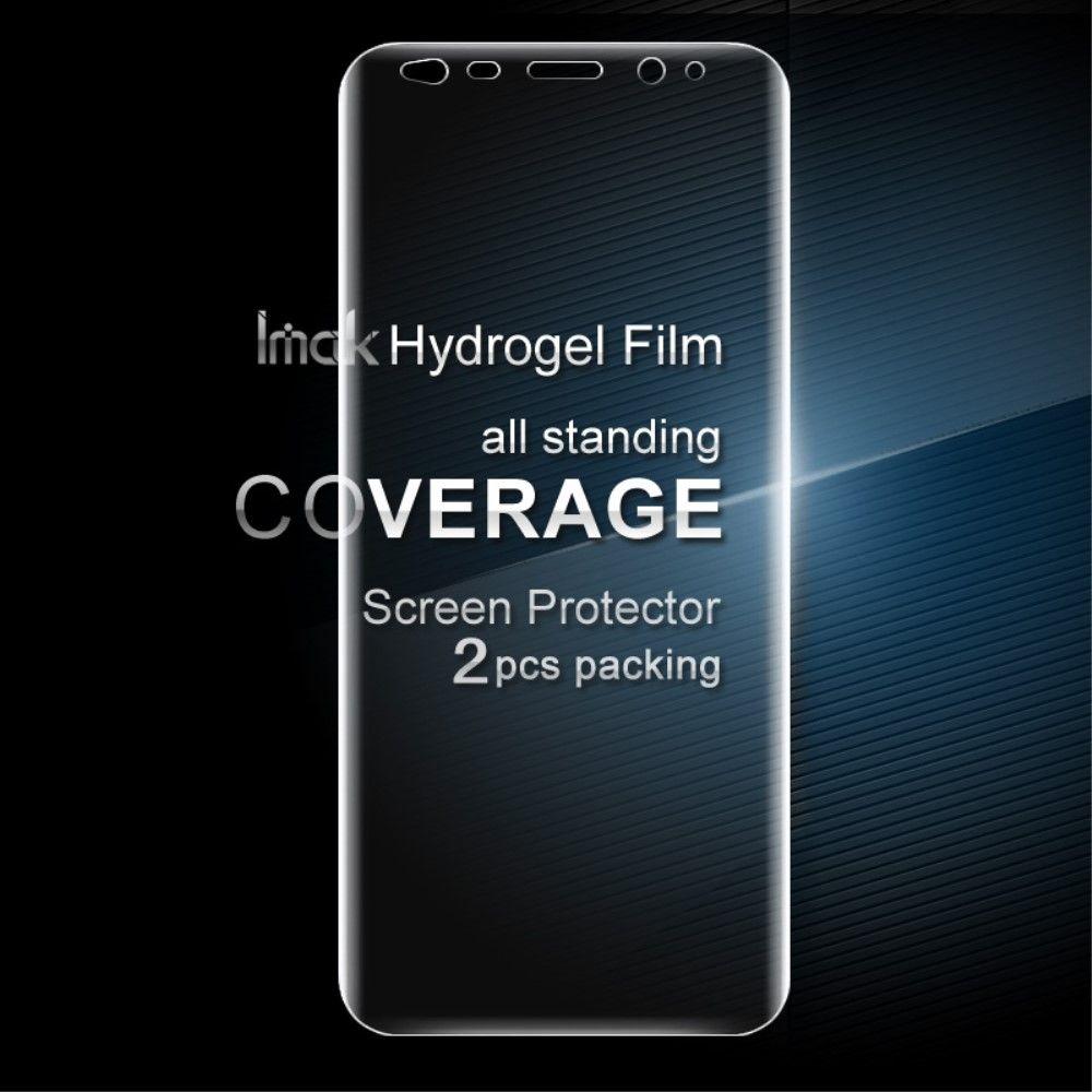 Image of   Galaxy S8 Plus - IMAK gel skærmbeskytter fuld dækning (2 stk.)