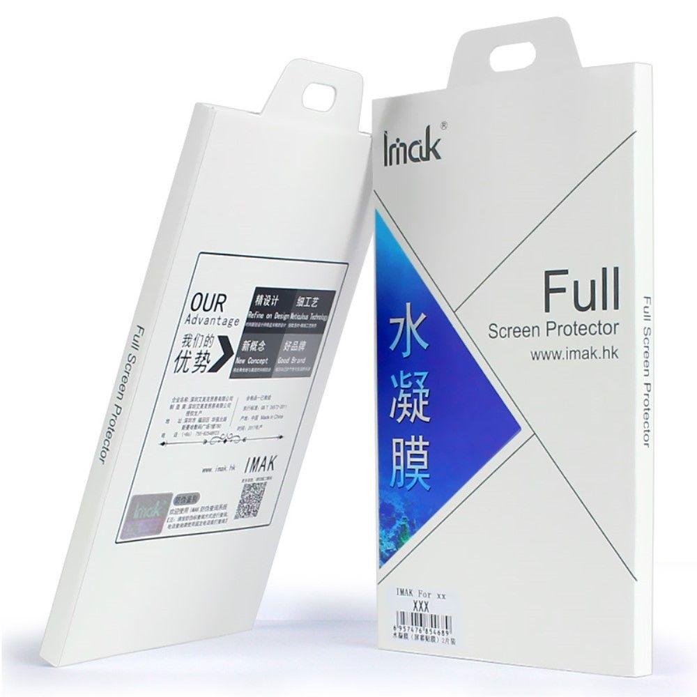 Image of   Galaxy S8 - IMAK gel skærmbeskytter fuld dækning (2 stk.)