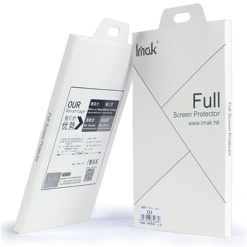 Image of   HTC U11 - IMAK soft gel beskyttelse til bagside (2 stk.)