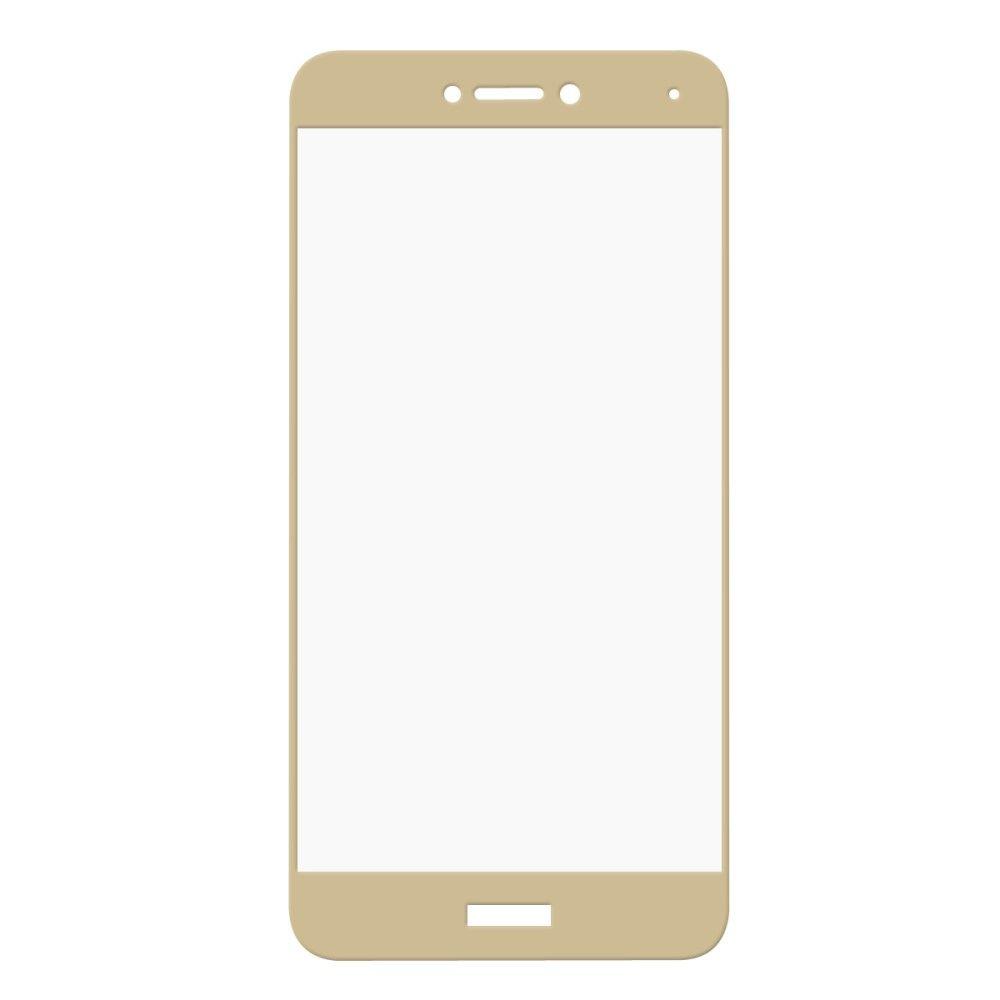 Huawei P8 Lite (2017) - HAT PRINCE panserglas m/komplet dækning - Guld
