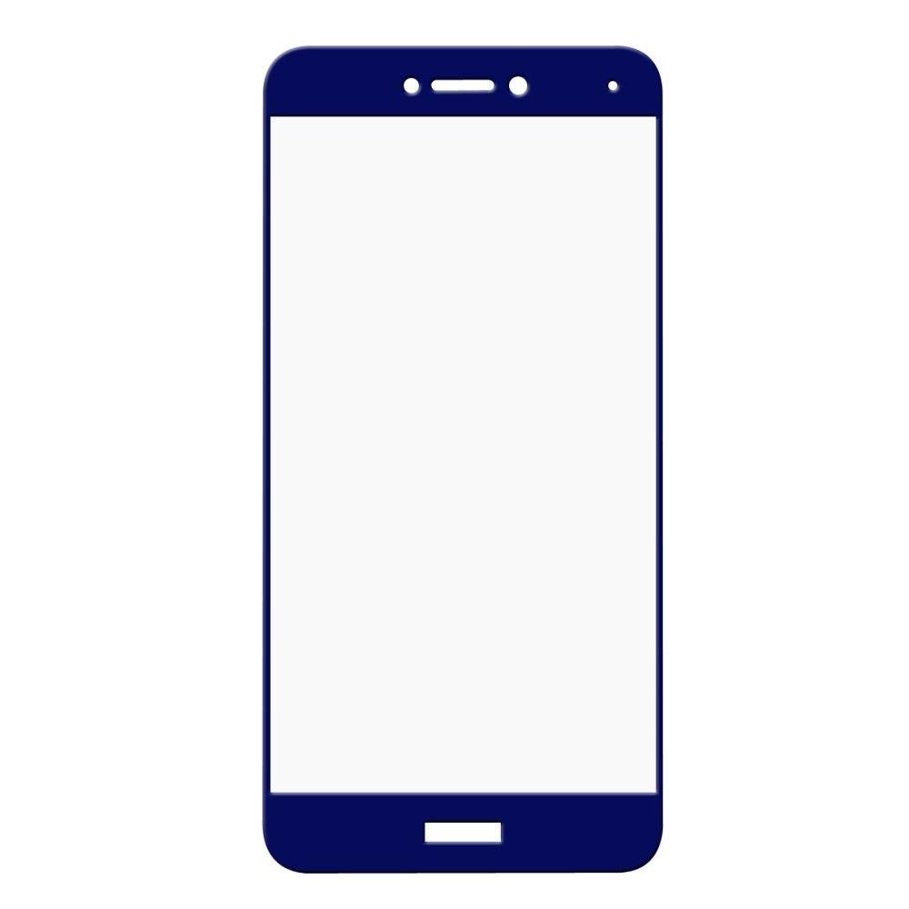 Huawei P8 Lite (2017) - HAT PRINCE panserglas m/komplet dækning - Mørkeblå