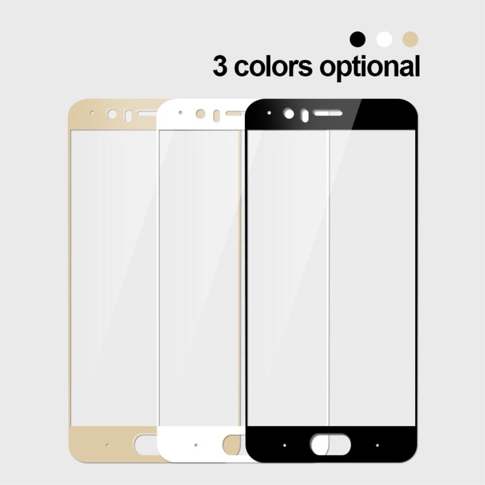 OnePlus 5 - MOFI panserglas m/komplet dækning - Hvid